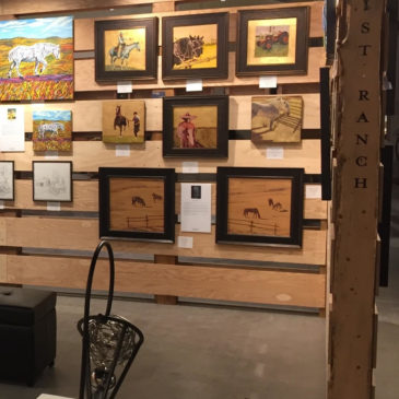 Calgary Stampede Artist in Residence Participant – July 2019