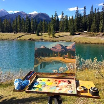 Bragg Creek Plein Air Festival Winner 2016