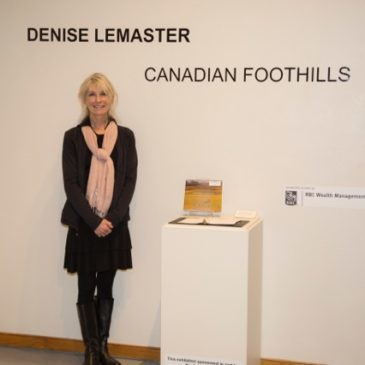 USA Exhibition Tour 2014/15- Canadian Foothills Solo Show