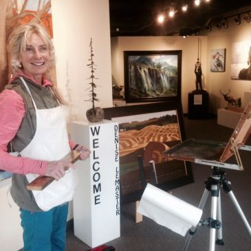 Avens Gallery Demonstration May 21, 2016
