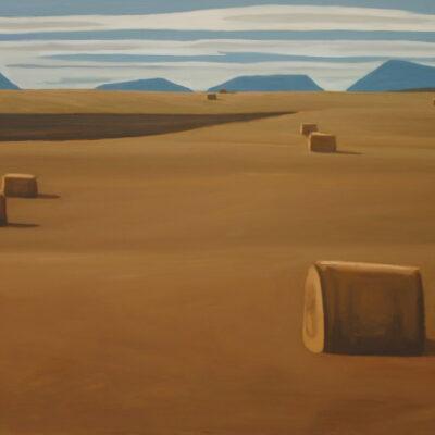"Foothills of Alberta - 36"" x 84"""