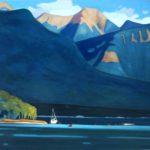 Chisel Peak and Lake Windermere