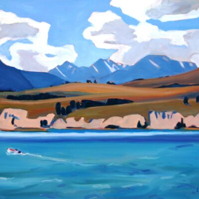 """Colombia Lake 16"""" x 20"""""""