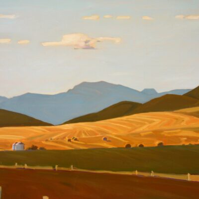 "Foothills Country 36"" x 48"""