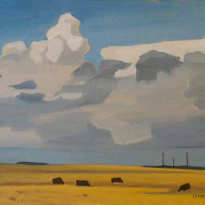 "Clouds Gathering 20"" x 24"""