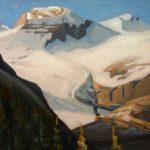 Peyto Lake and Glacier