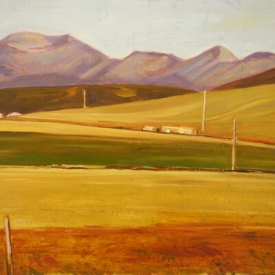 "Ranch Country 36"" x 48"""