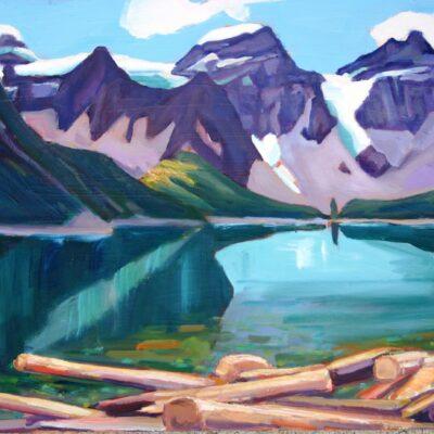 "Moraine Lake 16"" x 20"""