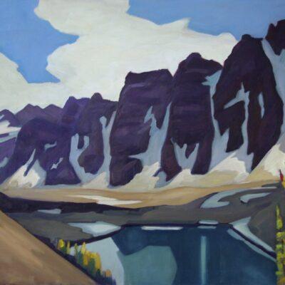 "Valley of the Ten Peaks (Eiffel Lake) 30"" x 40"""