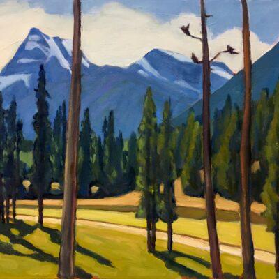 "Monument Peak Greywolf Golf Course - 20"" x 24"""