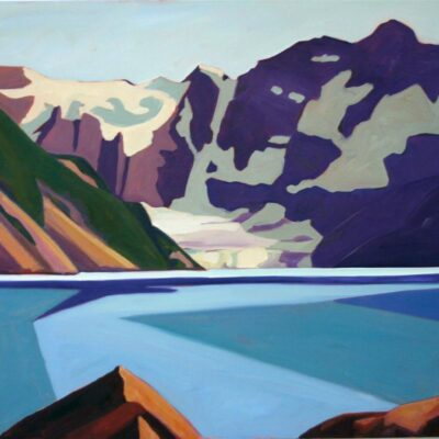 "Lake of the Hanging Glacier 36"" x 40"""