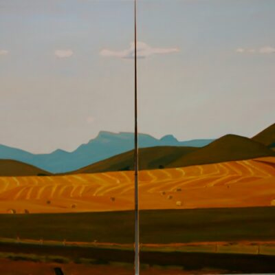 "Golden Fields 24"" x 40"""