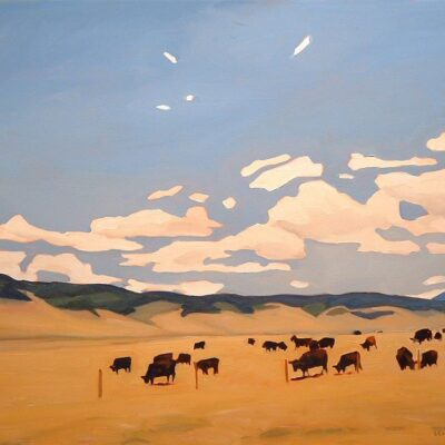 "Ranchlands 24"" x 30"