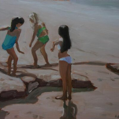 "Beach Girls 12"" x 16"""