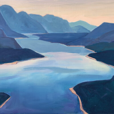 "Lake Windermere - 24"" x 36"", Oil on Canvas"