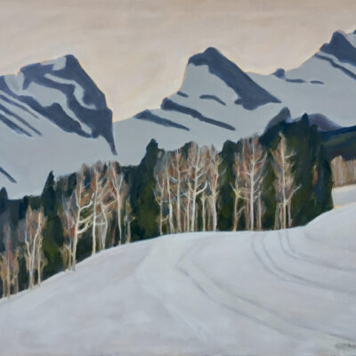 "Three Sisters - Canmore Nordic Centre - 30"" x 36"""