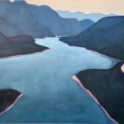 "Windermere on My Mind', oil on canvas - 48"" x 60"""