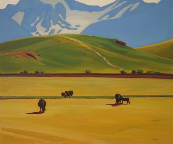 """Ranchlands Meets the Rockies 30"""" x 36"""""""